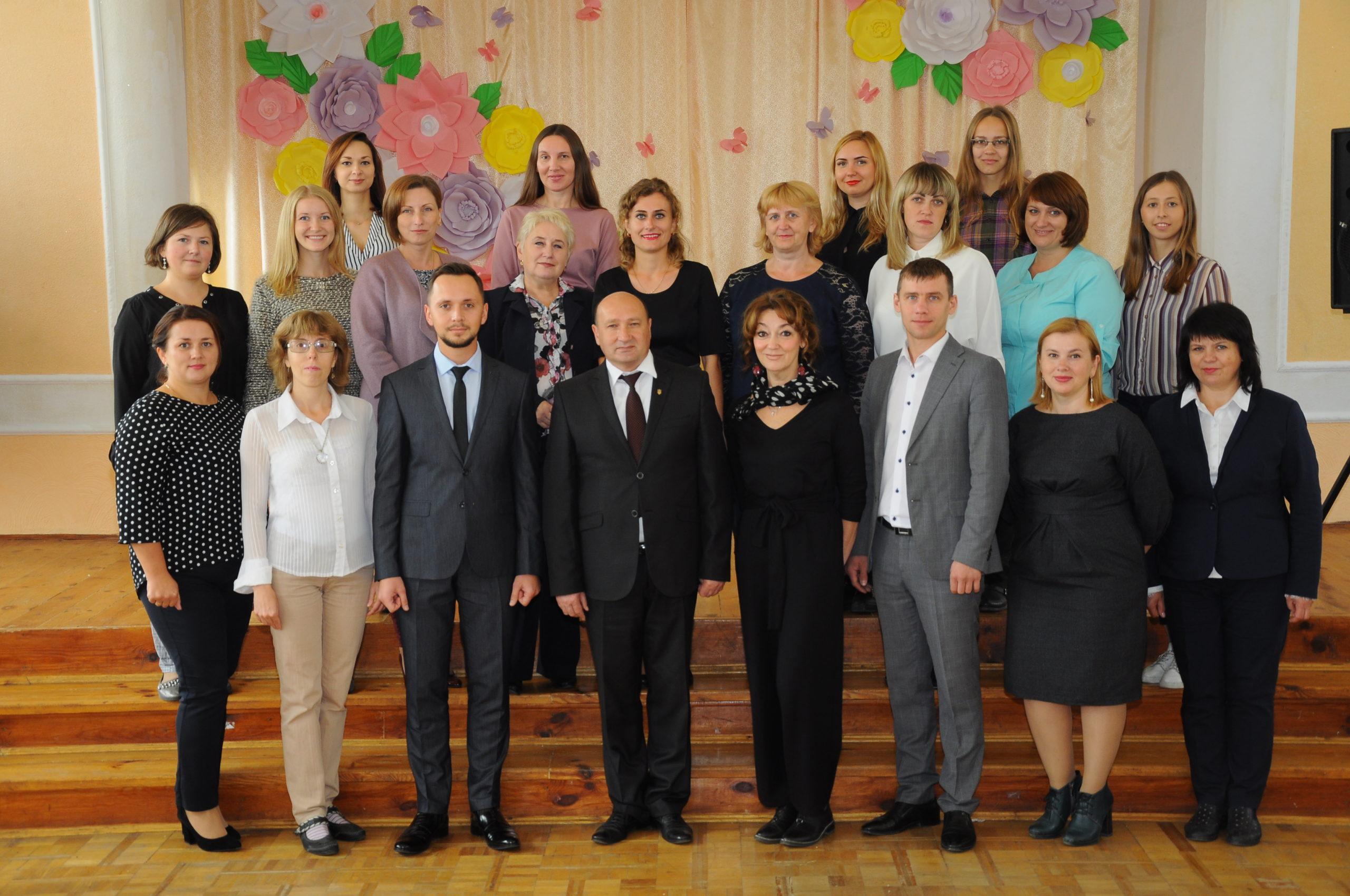 вчителі 5 школа Луцьк